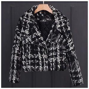 The BEYONKA Chunky Tweed Jacket